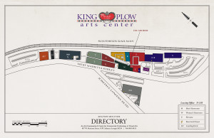 King Plow Map to Leasing Office